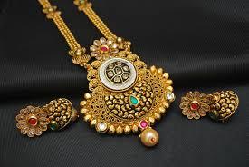 fashion jewellery necklace set images Imitation jewellery gorgeous brilliant copper base necklace set jpg