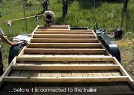 how to frame a floor how to floor and frame a tumbleweed tiny house on a trailer tiny