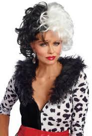 dreamgirl womens cruella deville costume wig ebay