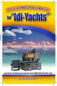 the icom m802 radio manual for