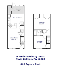 9 fredericksburg court state college pa 16803 park forest