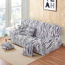 White Sofa Slipcovers by Online Get Cheap Stripes Sofa Cover Aliexpress Com Alibaba Group