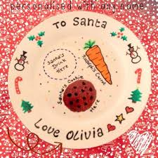 22 best santa plates images on plates