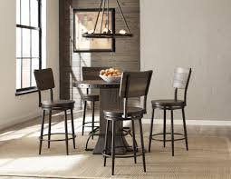 gracie oaks cathie 5 piece round counter height dining set cathie 5 piece round counter height dining set
