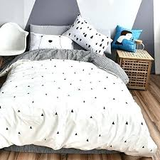 Black And White Twin Duvet Cover Duvet Covers Twin Triangle Bedding Set Cotton Triangle Duvet Cover