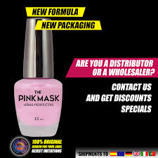 pink mask perfect nails pack x 24