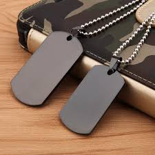Engravable Dog Tags For Men Pendant Necklace Picture More Detailed Picture About Gagaffel