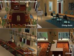 the sims 2 kitchen and bath interior design mod the sims the stepford project i 2 mansions by d d i
