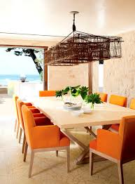 furniture engaging coastal but glamorous dining room archives