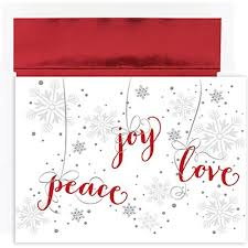 christmas sets peace and christmas cards jam paper