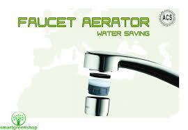 Water Faucet Aerator Ecosavers Water Saving Faucet Aerator M24 U0026 M22 Smart Green Shop