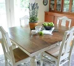 Painting Dining Room Table Painted Dining Room Table And Chairs Chair Ed Spray Painting