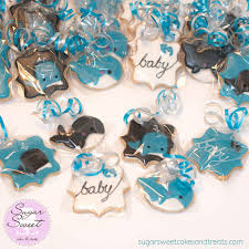 whale themed baby shower whale themed baby shower cookie favors an assortment of wh flickr