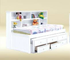 bookcase twin bed side bookcase twin bookcase bed with underbed
