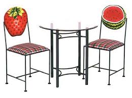 hand painted barstools kitchen counter stools