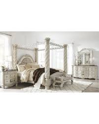 Slash Prices On Cassimore North Shore Pearl Silver Upholstered - North shore poster bedroom set price
