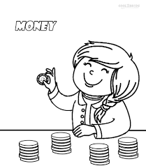 money coloring sheet great with images of money coloring 93 581