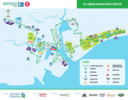 Nyc Marathon Route Map Standard Chartered Marathon Singapore 2015 Just Run Lah