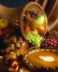 thanksgiving cornacopia a cornucopia of abundance