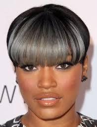 black women short grey hair grey black short hairstyles for african american women 2017 2018