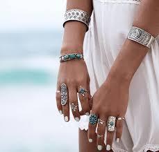midi ring set 9 bohomian style midi ring set bb002 beauty