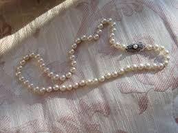 necklace clasps vintage images Circa 1950s mikimoto vintage mikimoto cultured pearl necklace jpg