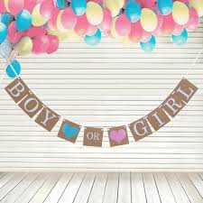 rustic boy or bunting banner garland diy kits baby shower