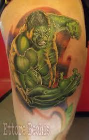 hulk tattoo tattoos realistic miami beach salvation tattoo lounge