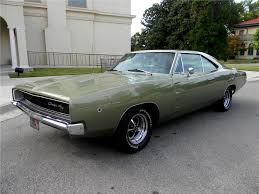 1968 dodge charger green 1968 dodge charger r t 2 door hardtop 96287