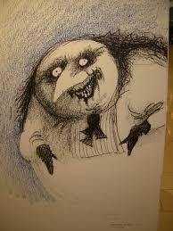 tim burton creature series drawing 1992 tim burton u0027s alice in
