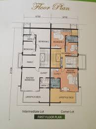 cluster home floor plans cluster house floor plan home design