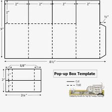 pop up box template fits invitation size envelope templates