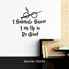 Harry Potter Decor by Online Shop Harry Potter I Solemnly Swear Hogwarts Wall Art