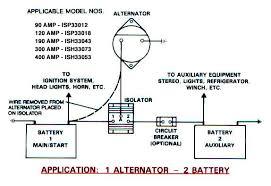 marine battery isolator wiring diagram the best wiring diagram 2017