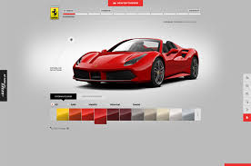 nissan altima coupe build your own build the ferrari 488 spider of your dreams with this configurator