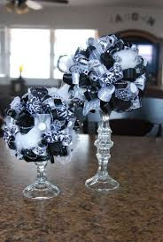 black and white centerpieces centerpiece for my daughters
