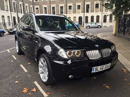 bmw x3 e83 3 0sd auto m sport black 88k in southwark london
