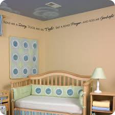Nursery Sayings Wall Decals Nursery Room Wall Quotes Lettering Sayings Wall Written