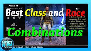 best online class the elder scrolls online beginner s guide for best race class