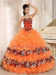 orange quinceanera dresses orange ruffles appliques sweetheart quinceanera dress