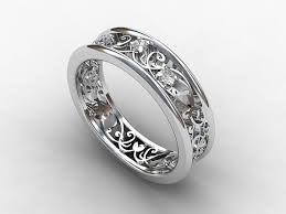 filigree wedding band 35 best rings images on rings jewelry and filigree ring