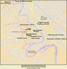 baghdad on a map baghdad iraq