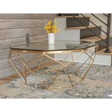 Brass Coffee Table Marlow Antique Brass Coffee Table The Khazana Home