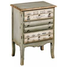 3 drawer shabby chic bedside cabinet french furniture from