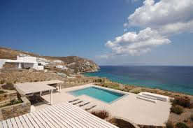 luxury villa astarte greece greek islands cyclades islands