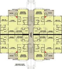 Plan DC  Story  Unit Apartment Building Apartments - Apartment complex designs