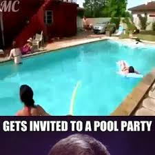 Pool Meme - bad luck brian at the pool party by rayyzo meme center