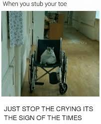 Toe Memes - 25 best memes about stub your toe stub your toe memes