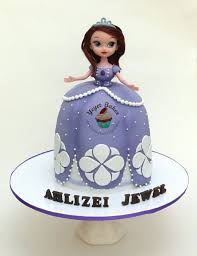 sofia the first 3d cake cake by yeyet bakes cakesdecor