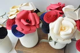 paper flower centerpieces wedding centerpiece flower centerpiece paper flower arrangement